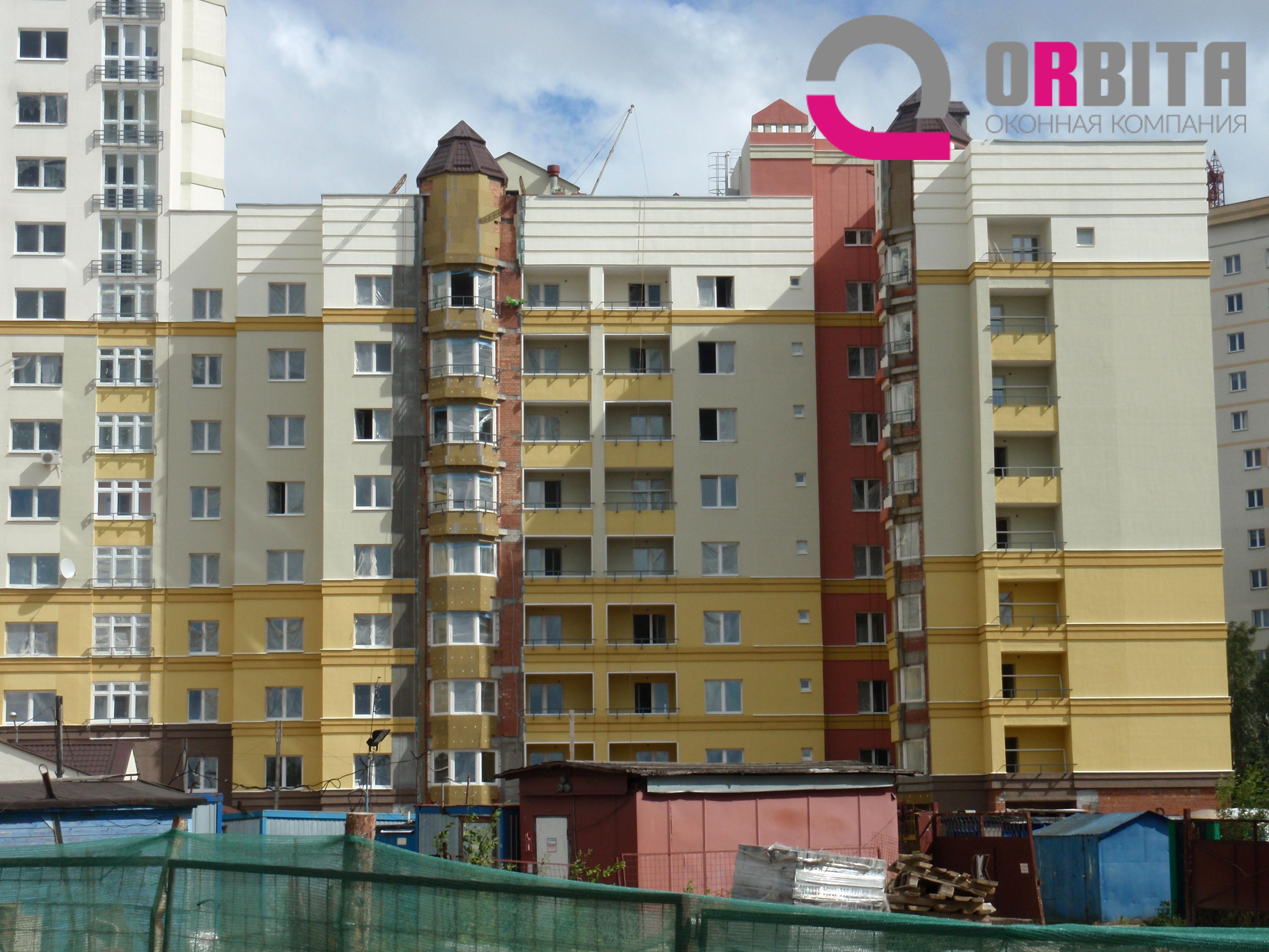 Пластиковые окна ПВХ в Минске производство окон Объект 13